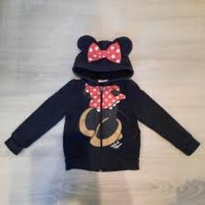 Disney Minnie Mouse Ears Sherpa Hoodie